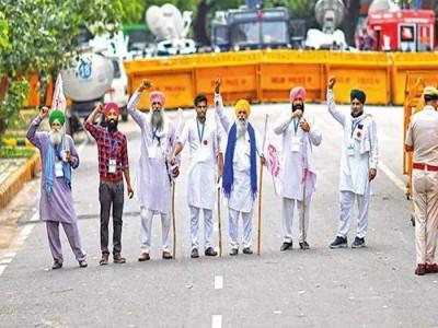 नई दिल्ली में लगी धारा 144, नहीं मिली SAD को संसद तक मार्च की अनुमति