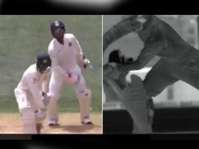 Ind Vs Aus: Out होने के बाद भी मैदान पर खड़ा रहा बल्लेबाज फिर कोहली ने दिखाया अपना विराट जादू