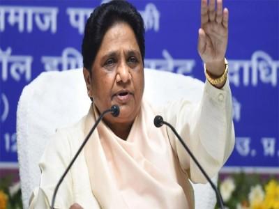 मायावती का ऐलान- UP और उत्तरराखंड में अकेले चुनाव लड़ेगी BSP