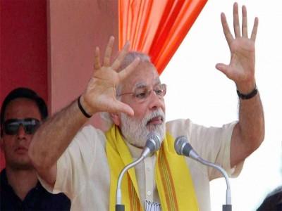 प.बंगाल : मतदान की रिपोर्ट ने उड़ाई दीदी की नींद- PM मोदी