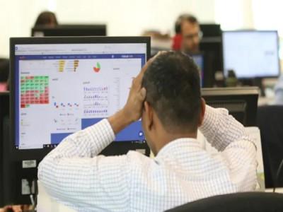 शेयर बाजार में आई भारी गिरावट, कुछ ही मिनटों में डूबे 4 लाख करोड़ रुपये