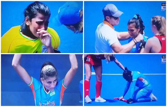 Tokyo Olympics: हार के बाद भर आईं भारतीय महिला हॉकी टीम की आंखें...छिन गया ओलंपिक मेडल