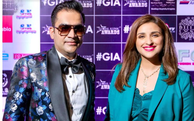 परिणीति चोपड़ा ने ग्लोबल आइकोनिक अवार्ड्स 2019 दिये