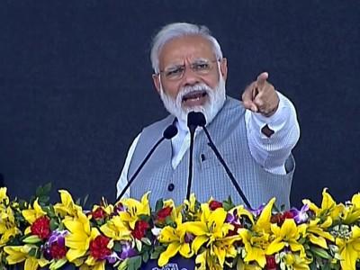 भारत ने आतंकवाद की कमर तोड़ दी- PM मोदी