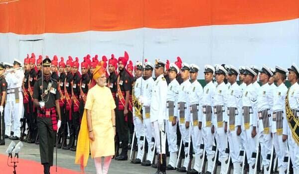 स्वरतंत्रता दिवस : PM मोदी को 15 अगस्त को गार्ड ऑफ ऑनर देने के लिए क्वारंटाइन हुए 350 पुलिस अफसर