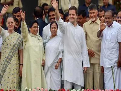 ममता की कोशिश को मिला राहुल का साथ , एक मंच पर नजर आएगा विपक्ष