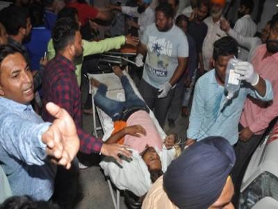 अमृतसर हादसा 'अतिक्रमण का सीधा मामला', कार्यक्रम के लिये कोई इजाजत नहीं दी गई : रेलवे अधिकारी