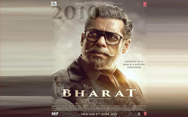 इंतजार हुआ खत्म , सलमान के पहले लुक के साथ जारी हुआ फिल्म 'भारत' का एक और पोस्टर