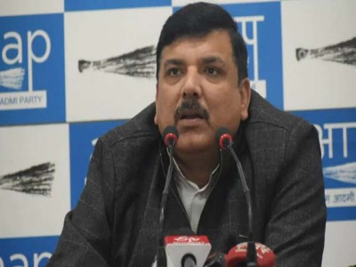 AAP नेता संजय सिंह का CAA-NRC को लेकर तंज, कही ये बात