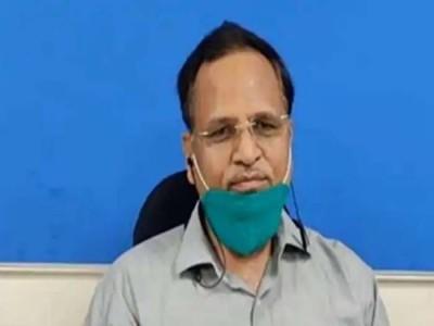 Corona पॉजिटिव दिल्ली के मंत्री सत्येंद्र जैन को दी गई प्लॉज्मा थेरेपी