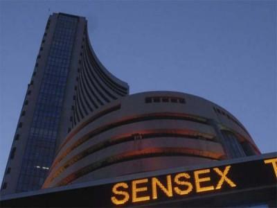 बाजार में कोरोना का कहर: बड़ी गिरावट के बाद सेंसेक्स 3550 अंक नीचे