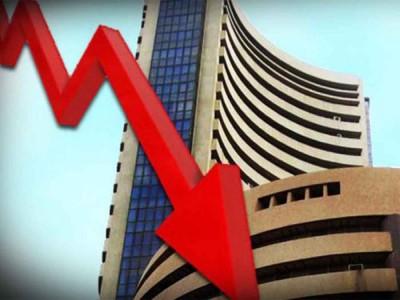कोरोना संकट का शिकार हुआ शेयर बाजार: सेंसेक्स 2,991 नीचे, लोअर सर्किट लगा