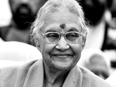 राजकीय सम्मान के साथ पंचतत्व में विलीन हुई दिल्ली की पूर्व मुख्यमंत्री शीला दीक्षित