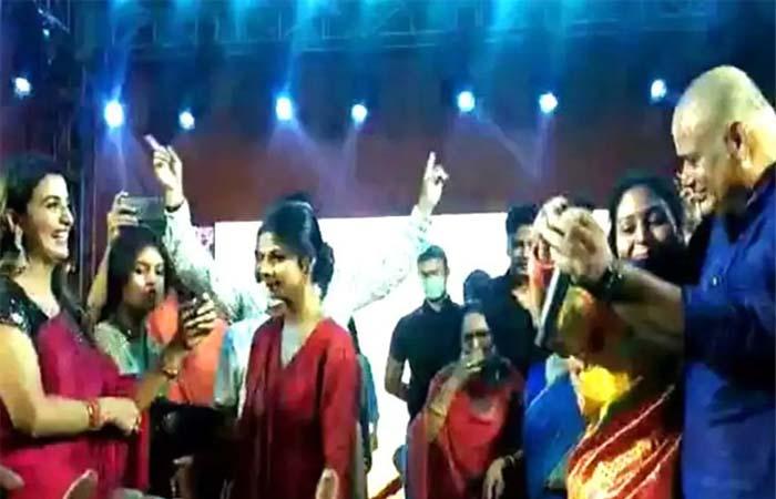 मुन्ना शुक्ला के कार्यक्रम में नाइट कर्फ्यू की उड़ी धज्जियां
