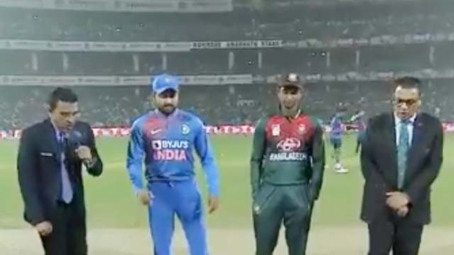 Ind vs Ban 1st T20 match: बांग्लादेश ने जीता टॉस , पहले गेंदबाजी का लिया फैसला