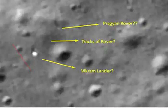 चेन्नई के युवक ने किया दावा- चंद्रयान-2 का रोवर प्रज्ञान बिल्कुल ठीक