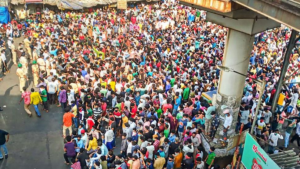 मुंबई: Lockdown के बीच क्या अफवाह के चलते ही भीड़ स्टेशन पहुंची या है कोई और कारण ?